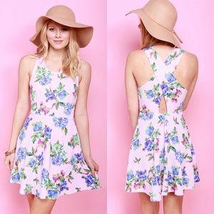 NEW Floral Skater Dress | Pink